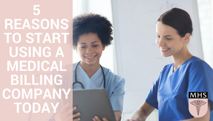 5 reasons to start using a medical billing company today