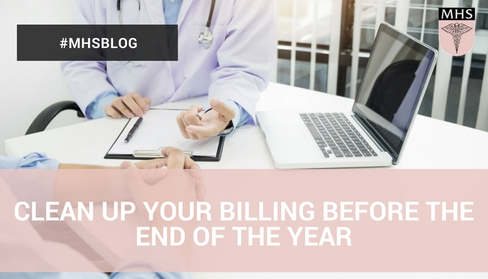 Clean Up Your Medical Billing Before the End of the Year